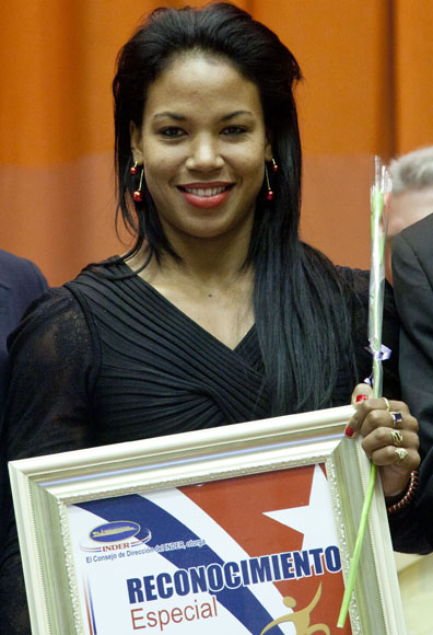 Yusmari Mengana entre las mejores del año. Foto: Ismael Francisco/Cubadebate.
