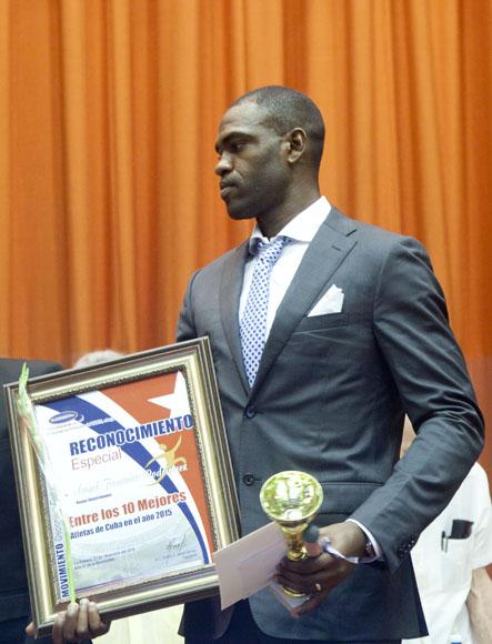 Angel Fournier, entre los mejores del año. Foto: Ismael Francisco/Cubadebate.