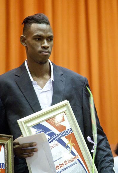 Rafael Alba entre los mejores del año. Foto: Ismael Francisco / Cubadebate.