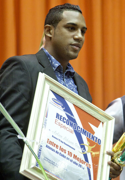 Arlen Lopez entre los mejores del año. Foto: Ismael Francisco/Cubadebate.