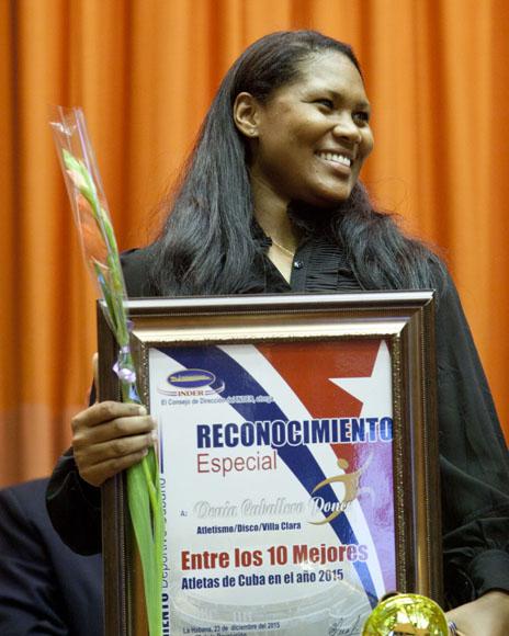 Denia Caballero, entre las mejores del año. Foto: Ismael Francisco/Cubadebate.