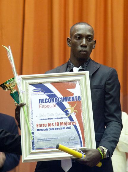 Pedro Pablo Pichardo entre los 10 mejores atletas del año. Foto: Ismael Francisco/Cubadebate.