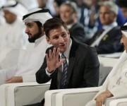 Leo Messi gana el Globe Soccer Award. Foto: EFE.