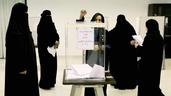 mujeres votan arabia saudi