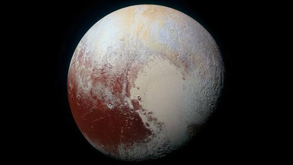 Imágenes inéditas de Plutón. Foto: NASA.