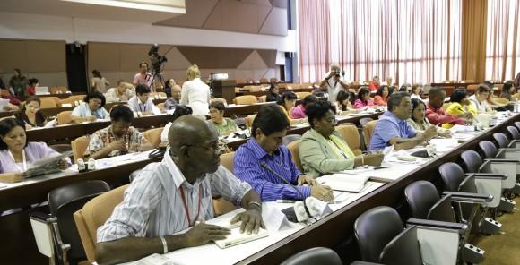 Trabajo en comisiones de la Asamblea Nacional,  Educacion,Cultura, Ciencia y Tecnologia. Foto: Ismael Francisco/Cubadebate.