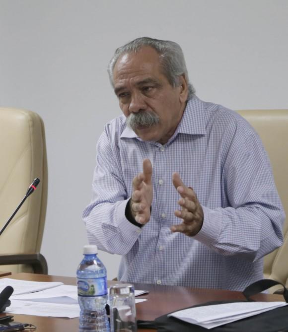 Jorge Gonzalez, presidente de la Comision de Salud y Deportes. Foto: Ismael Francisco/Cubadebate.