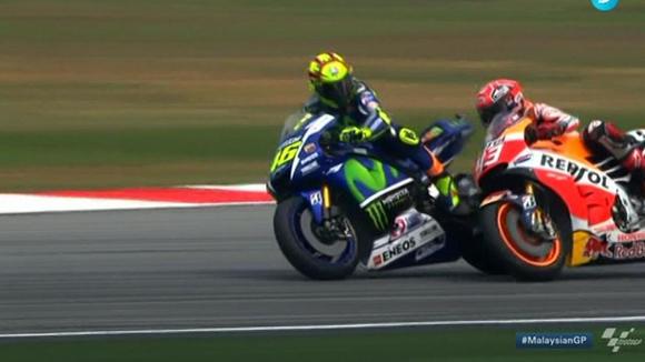 Rossi-Márquez.