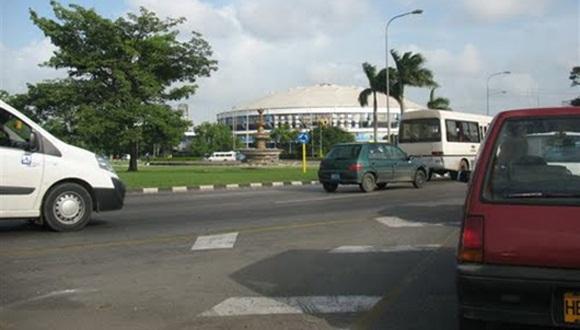 Intersección de las avenidas Boyeros, Via Blanca y 26 en La Habana.