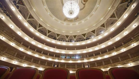 Gran Teatro de La Habana Alicia Alonso. Foto: Ismael Francisco/ Cubadebate