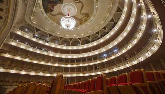 Un teatro en el centro de la historia