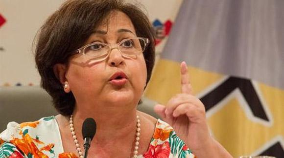 Tibisay Lucena, Presidenta de la Comisión Nacional Electoral.