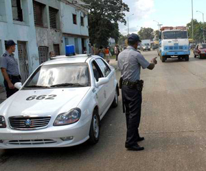 Aumentarán las medidas de control en la vía. Foto: Marcelino Vázquez.