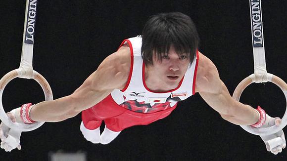 Kohei Uchimura.