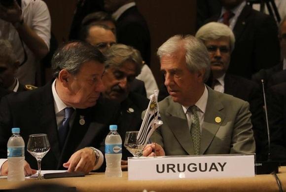 Uruguay recibe presidencia del Mercosur