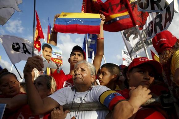 Elecciones en Venezuela. Foto: Reuters