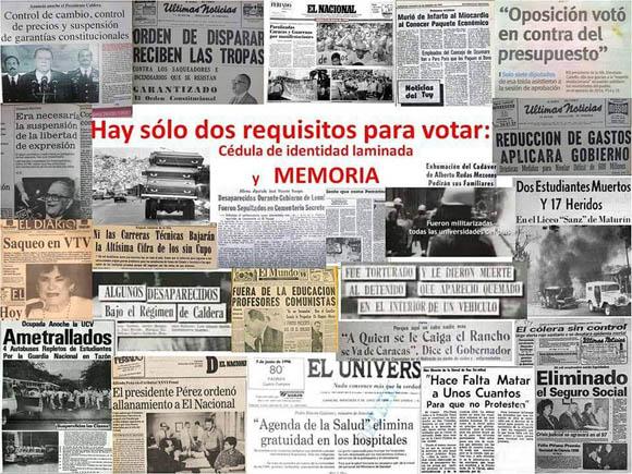 votar con memoria
