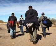 En el intento de llegar a territorio de los Estados Unidos, los migrantes se han convertido en víctimas de traficantes y de bandas delincuenciales. (Foto: Getty Images)