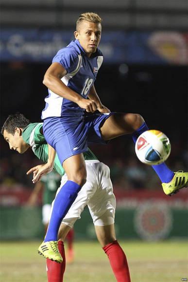 Abel Martínez en el equipo Cuba. Foto: EFE.