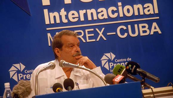 El vicecanciller cubano Abelardo Moreno. Foto: Jorge Legañoa/ACN.
