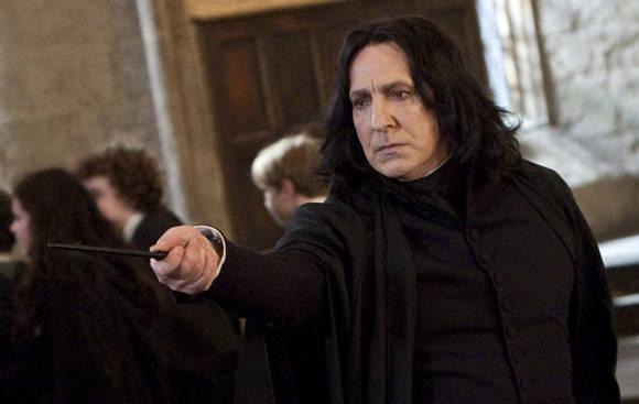 Alan Rickman en Harry Potter.