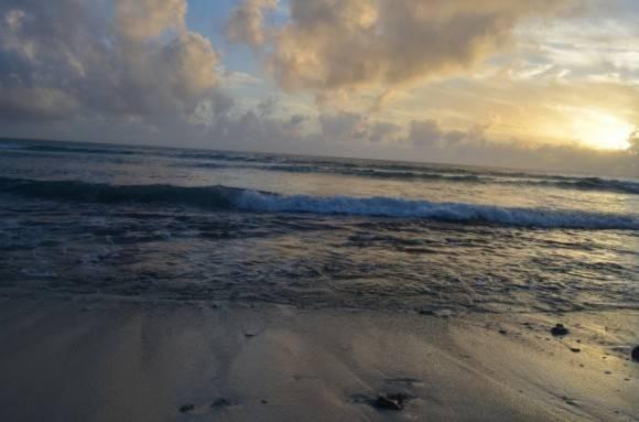 Atardecer en la Península de Guanahacabibes, el extremo occidental de Cuba. Foto: Darien Medina / Cubadebate