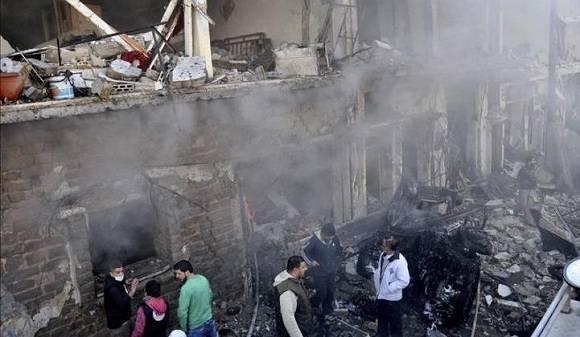 El pasado 28 de diciembre también ocurrió un atentado en esa ciudad. Foto: EFE