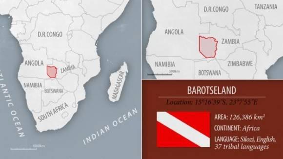 Barotselandia y Ogonilandia