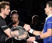 Novak derrtó por segunda ocasión consecutiva en Australia a Andy Murray. Foto tomada de Edinburgh News.
