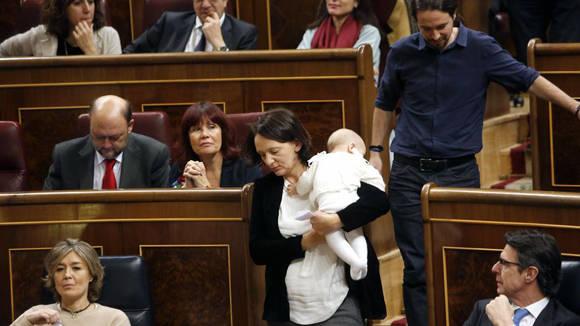 Carolina Bescansa-Congreso España3