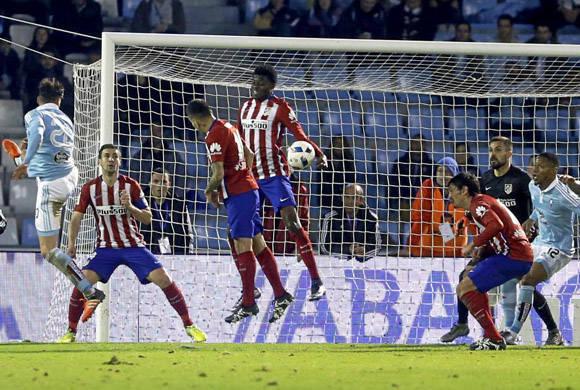 Celta y Atlético tuvieron varias oportunidades pero no concretaron.  Foto tomada de Marca.