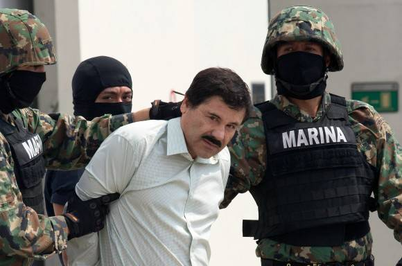 El Chapo Guzmán. Foto: Bloomberg