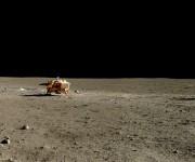 El último alunizaje había sido en 1976. Foto: China National Space Administration/Emily Lakdawalla.