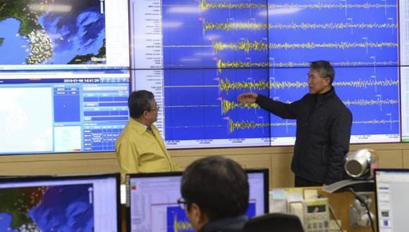 Provoca sismo en península de Corea prueba de bomba nuclear