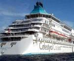 La península ha estado recibiendo cruceros de diferentes portes, incluyendo el Celestyal Crystal, con capacidad para 1 200 personas. Foto: Ronald Suárez Rivas / Granma.