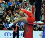Cuba clasifica a Rio en Voleibol masculino. Javier Jiménez uno de los puntales 580