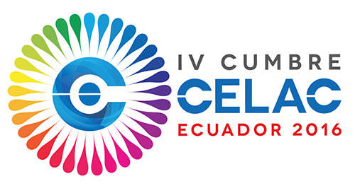 Cumbre CELAC Ecuador 2016 logo