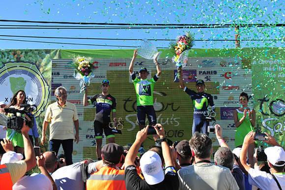 Dayer Quintana gana Tour de San Luis. Foto: Pablo Cersosimo.