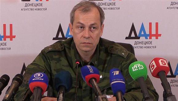 Eduard Basurin, jefe adjunto del Estado Mayor de las milicias en la República Popular de Donetsk. (Foto: Archivo)