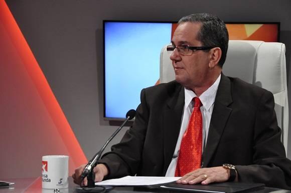 2.MSc. René Sánchez Díaz, Director de ingreso y ubicación Laboral del MES. Foto: Roberto Garaicoa / Cubadebate.