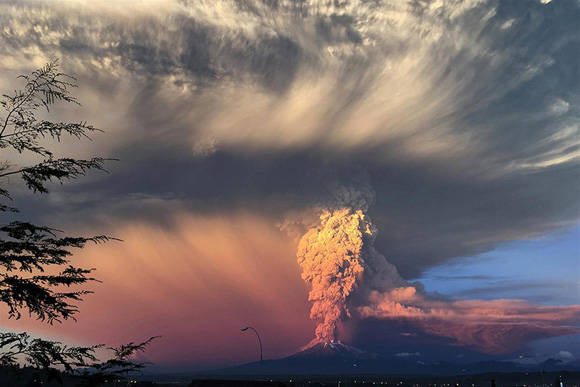 El Calbuco. Foto: Reuters