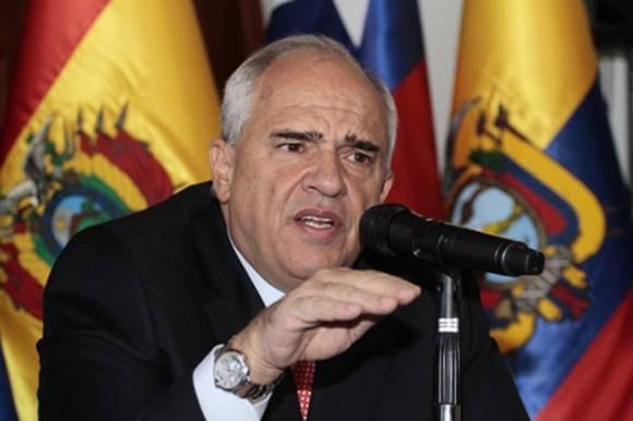 Ernesto Samper, secretario general de UNASUR y expresidente de Colombia. Foto: Archivo.