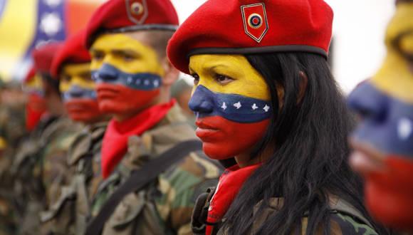Miembros de la Fuerza Armada Nacional Bolivariana. (Foto: Archivo)