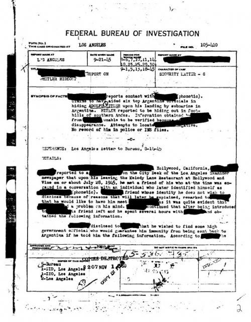 FBI Hitler