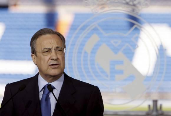 El presidente de la entidad blanca, Florentino Pérez. Foto: EFE