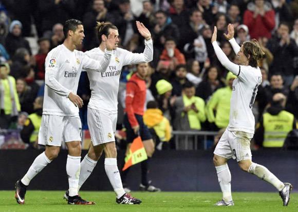 """""""Queremos tener el balón y ser ofensivos"""", dijo Zidane en conferencia de prensa, su equipo no le defraudó. Foto: AFP."""