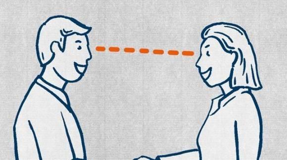 Guía para refugiados: mire a los ojos.