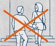 Guía para refugiados: no toques el culo a la gente.