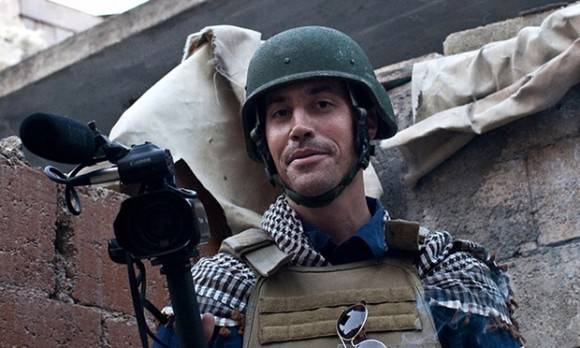 James Foley was captured in Syria in 2012 and killed in August 2014 by Islamic State. Photograph: Nicole Tung/AFP/Getty Images