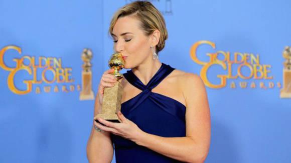 Kate Winslet obtuvo el cuarto Globo de Oro en su carrera. Foto: Getty Images